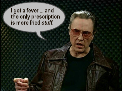 Christopher Walken Likes Fried Stuff