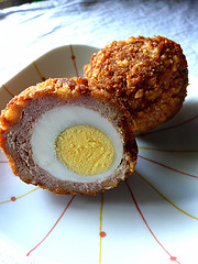 Hardboiled Egg + Sausage + Fried = Hardattack