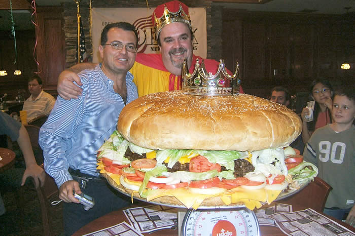 World's Biggest Burger!