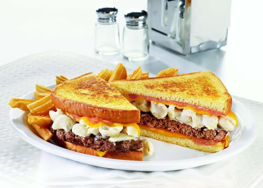 "Denny's Tells America ""Let's Get Cheesy!"""