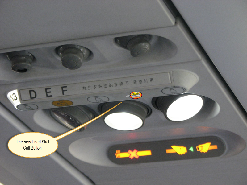 Airlines To Install Deep Fat Fryers On Planes
