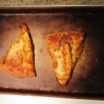 Buffalo Chicken Pizza after Baking