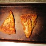 Buffalo Chicken Pizza after Baking